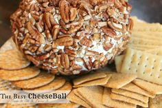 The BEST cheese ball! The perfect appetizer for every party!