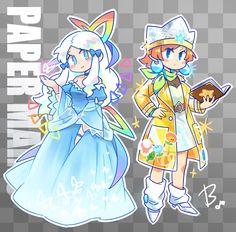 Mario Fan Art, Super Mario Art, Mario Bros., Mario And Luigi, Super Mario Brothers, Pretty Art, Cute Art, Mario Sticker Star, Cartoon Video Games