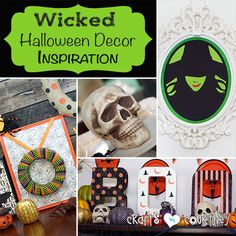 Halloween is so close I can taste the candy. Now I can decorate with new Halloween decor! Check out my Wicked inspired Ikea frames and other decoration ideas!