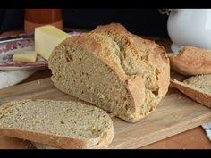 Pan sin levadura o pan de soda - YouTube Bread, Youtube, Food, Bread Without Yeast, Spelt Flour, Bread Recipes, Breads, Soda Bread, Whole Wheat Flour