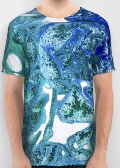 T-shirt and Clothing in Sea Leaves, Environmental Love... Art collection for the fashionista and interior designer! Find yours today by @anoellejay @society6