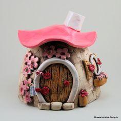 Räucherhäuschen - FLEURY - Kreative Keramik für Haus und Garten