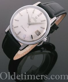 1960s steel automatic vintage Omega Seamaster watch (4108) Omega Watches Seamaster, Seamaster Watch, Luxury Watches For Men, Unique Watches, Hermes Watch, Heart Function, Cute Cafe, Vintage Omega, Vintage Watches