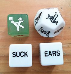 Novelty 12 Sided Erotic Adult Dice Toys Couple Game and Glow in the Dark Erotic Dice (Set of Valentines Day Gifts Boyfriends, Naughty Valentines, Great Valentines Day Gifts, Valentine Day Special, Gifts For Your Boyfriend, Be My Valentine, Valentine Cards, Boyfriend Girlfriend, Sexy Gifts