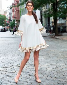 Shimmy Shimmy Tassel White Cocktail Dress – Preorder - My CMS Casual Dresses, Short Dresses, Fashion Dresses, Summer Dresses, Summer Outfit, White Cocktail Dress, White Dress, Cocktail Attire, Cocktail Dresses