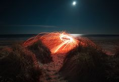 Photo by Kristopher Roller on Unsplash Infinity Lights, Beach Lighting, Hampton Beach, Free High Resolution Photos, Believe In Magic, Free Hd Wallpapers, Pretty Lights, The Dunes, Light Painting