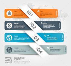 Business Timeline Infographics #creative #design  • Download here → https://graphicriver.net/item/business-timeline-infographics/21319381?ref=pxcr