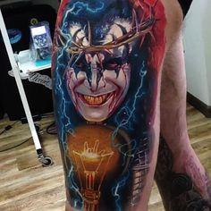 Kiss Tattoo By Dmitriy Samohin Kiss Tattoos, Weird Tattoos, 3d Tattoos, Tattos, Fan Tattoo, Vintage Kiss, Kiss Art, Incredible Tattoos, Hot Band
