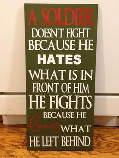 MILITARY SIGNS (Love Laughs Crafts) www.operationwearehere.com/deploymentproducts.html