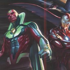 All New All Different #Avengers series of five connecting covers. Part one by Alex Ross #AlexRossArt @marvel