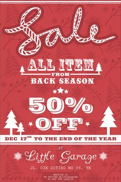 POSTER - for Little Garage (back season sale)