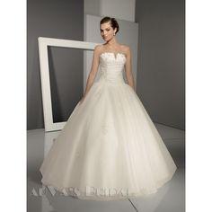 Wedding Dresses 2013 Collection / Mermaid Strapless Court Train... via Polyvore