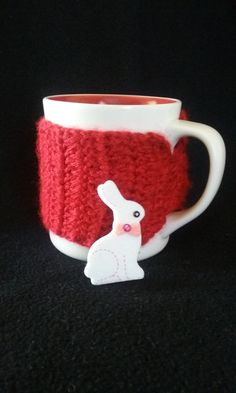 Red Cup Sleeve, Cup Cozy, Red Cup Cozy, Mug Cozy by JsCreations05 on Etsy