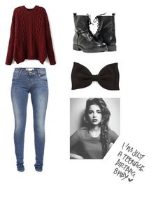"""""""Let The Autumn Leaves Fall"""" by ballerinadirectioner ❤ liked on Polyvore featuring French Connection, Paolo Shoes, Forever 21 and yay"""
