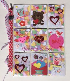 Received Pocket Letter - Valentines - February 2016 - Courtesy of Kim Collins
