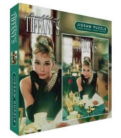 Breakfast at Tiffany's Movie Audrey Hepburn 1000 Piece Jigsaw Puzzle Puzzle