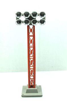 O O27 Lionel Floodlight Tower 6 12759 Box | eBay