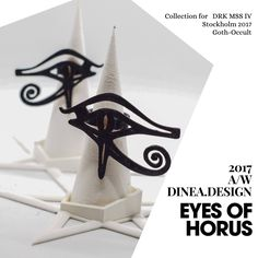 A personal favourite from my Etsy shop https://www.etsy.com/uk/listing/555213376/eyes-of-horus-3d-printed-statement-ring