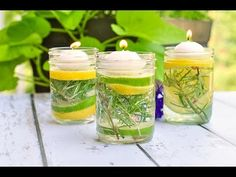 Natural Bug Repellent Luminaries - Flavour and Savour