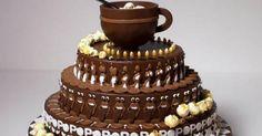 Animation inspiration via chocolate cake!