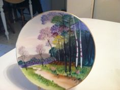 Items similar to Hand Painted - Occupied Japan - Decorative plate on Etsy Decorative Plates, Hand Painted, Japan, Unique Jewelry, Tableware, Handmade Gifts, Vintage, Etsy, Dishes