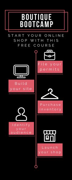 Free Course For Starting An Online Shop. Start A Boutique Online And Work From Home. Free Email Challenge To Help You Start A Business And Work At Home.