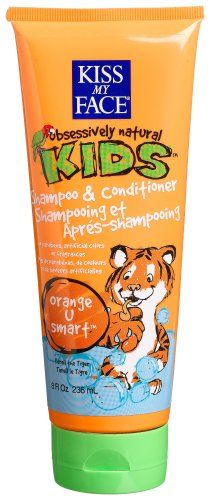 Kiss My Face Kids 2 In 1 Shampoo & Conditioner, Orange U Smart, 8 -Ounce Tubes (Pack of 3) $24.13