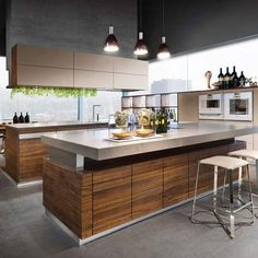 Team 7 Kitchens by German Kitchen Center. Our expert kitchen designers will bring your dream kitchen to reality, with stunning results. Modern Kitchen Images, Modern Kitchen Island, Small Space Kitchen, Modern Kitchen Design, Modern Kitchens, Kitchen Contemporary, Grey Kitchens, Kitchen Islands, Small Spaces