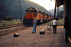Train Car, Train Tracks, Railroad Photography, Art Photography, Train Pictures, Cool Pictures, Colorado, Milwaukee Road, Diesel Locomotive