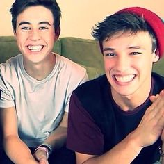 Nash Grier and Cameron Dallas they are incredible good looking and are actually my age !