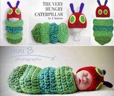 Hungry Caterpillar Crochet Patterns