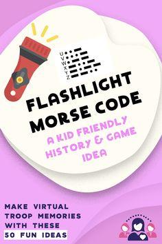 Flashlight Morse Code Game