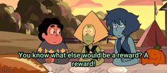 A reward!