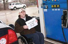 Postos de gasolinas adaptados para deficientes nos EUA | Portal PcD On-Line