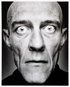 Portret van Willem Hooymans, WAO-er - geboren te Wamel, Stephan Vanfleteren, 1999 - 2000