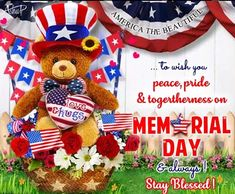 Warm hugs and wishes fir your loved ones on Memorial Day! #memorialday
