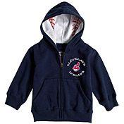 Cleveland Indians Infant Baseball Zip Hood by Soft as a Grape - MLB.com Shop