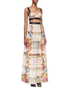 Florals are all the rage! Try it out with this Alice + Olivia Maxi Dress! 212 872 2451