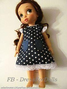 Rifľové šatôčky na Animator bábiky