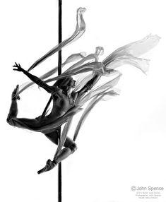 Jade Davies: 'The Art of Pole Dancing' : Shoot with World Champ Elena Gibson
