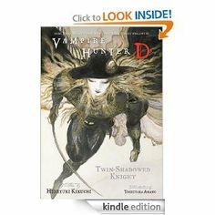 Vampire Hunter D Volume 13: Twin-Shadowed Knight Parts 1 and 2 by Hideyuki Kikuchi. $9.23. Publisher: Dark Horse Comics; 1 edition (October 10, 2012). 323 pages. Author: Hideyuki Kikuchi