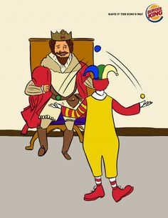 Adeevee - Burger King: Ronald the jester