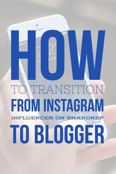 How to Transition from Instagram influencer or brandrep to Blogger in 5 easy steps!