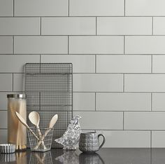Kitchen Tile Wall toscana silver rectified wall and floor tile | ps, silver walls