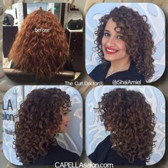 15 Curly Hair Transformations You Have . Thin Curly Hair, Curly Hair With Bangs, Curly Hair Tips, Curly Girl, Curly Hair Styles, Natural Hair Styles, Layered Curly Haircuts, Haircuts For Curly Hair, Haircut For Thick Hair