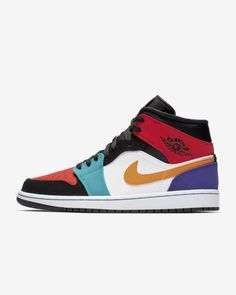 572692057634 Air Jordan 1 Mid Men s Shoe
