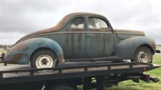 Scrap Hauler: 1940 Ford Deluxe Coupe