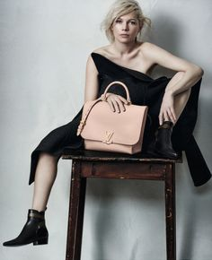 crfashionbook:  Michelle Williams for Louis Vuitton photographed by Peter Lindbergh