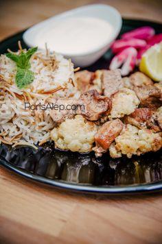 Arnabit bel lahmeh / Chou-fleur à la viande | Paris-Alep (cuisine syrienne)