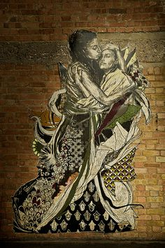Swoon ♥ bringing fine art to the streets